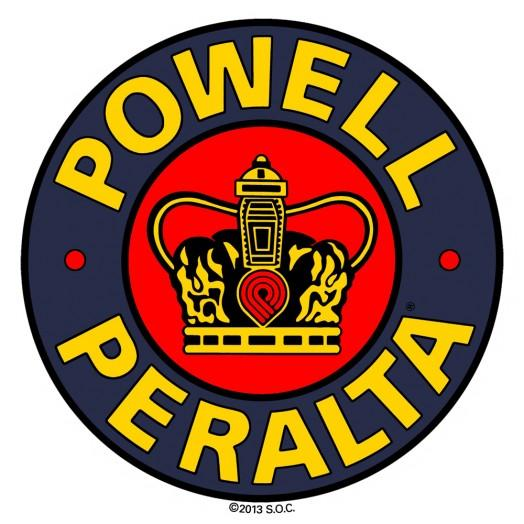 Наклейка Powell Peralta SUPREME Желтая