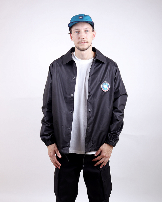Куртка Anteater Coachjacket-Black Черная
