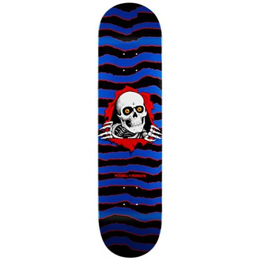 Дека для скейтборда Powell Peralta New School Ripper Синяя
