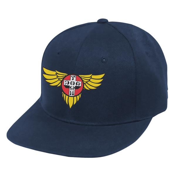 Кепка Hat Snapback Wings Embroidered Синяя