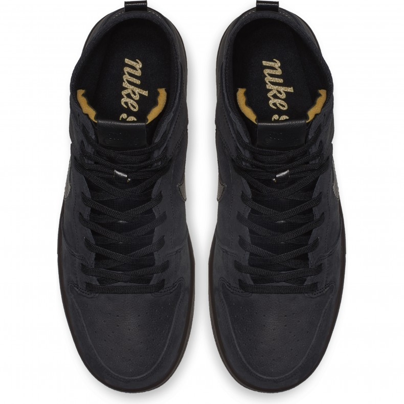 Кеды ZOOM DUNK HIGH PRO DECON PRM Черный