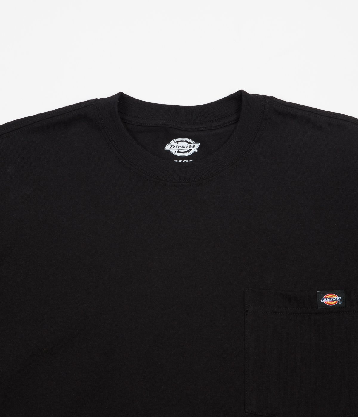 Футболка Dickies Long Sleeve Heavy Weight Pocket Tee Черный