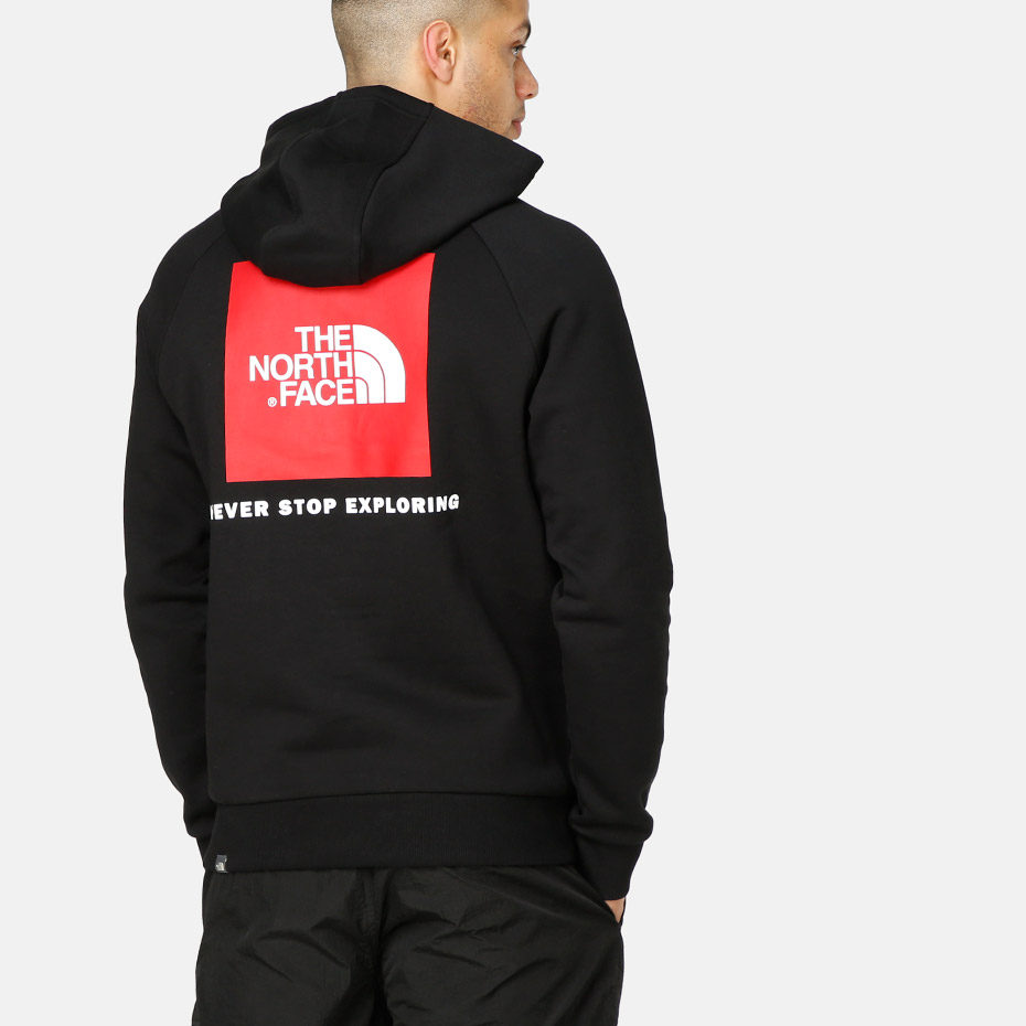 Толстовка M RAGLAN RED BOX hd TNF Черный
