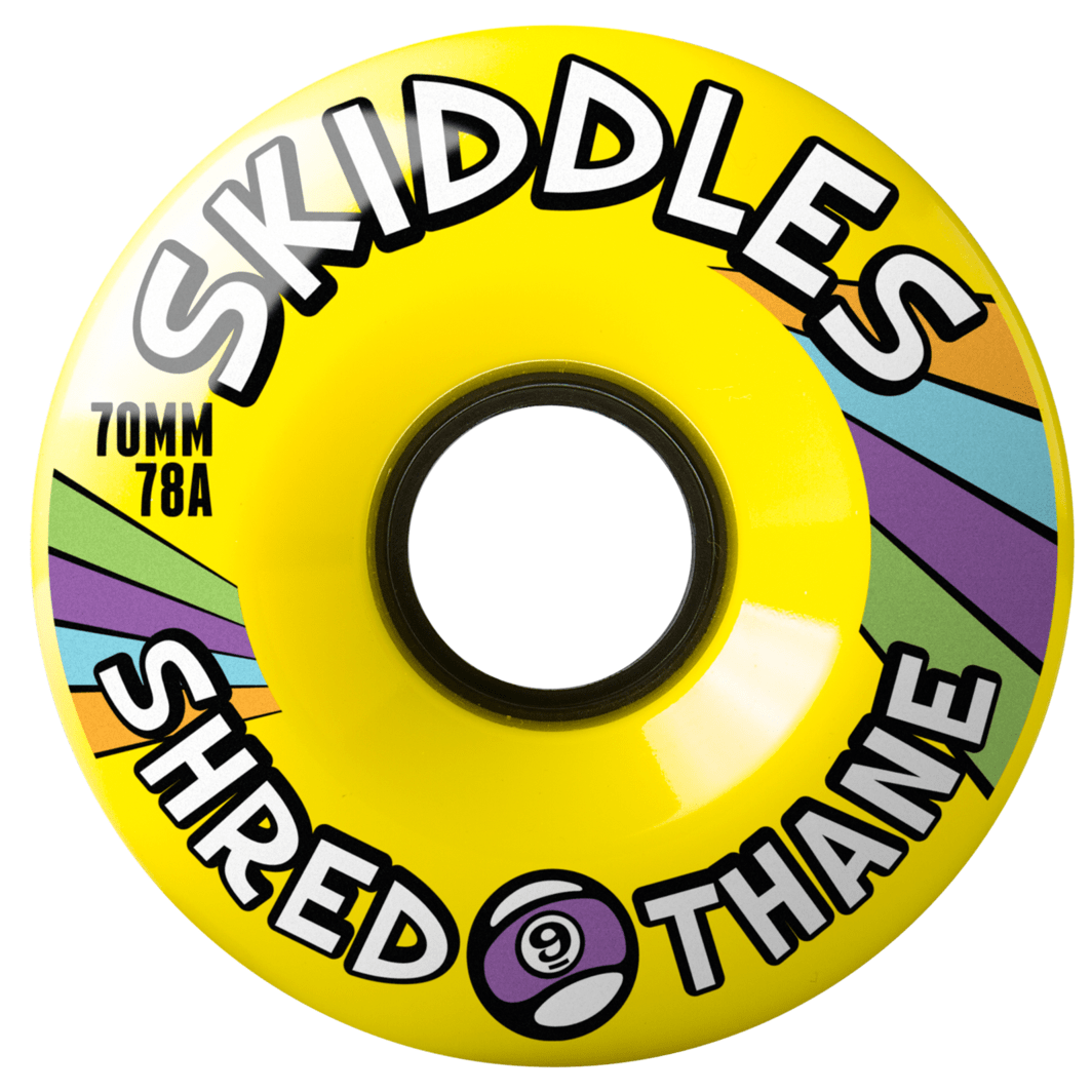 Колеса SKIDDLES WHEELS Желтый