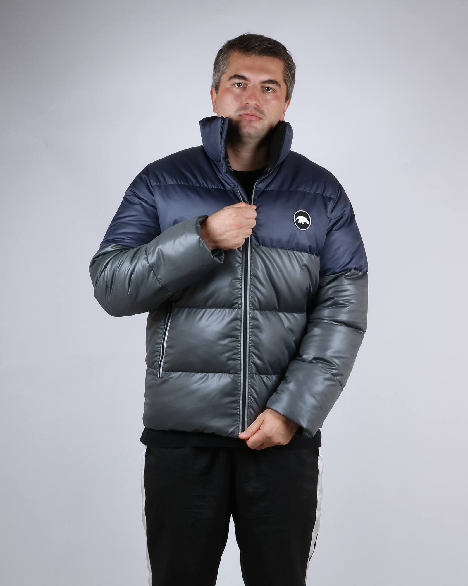Куртка Anteater Downjacket-Navy_Grey Серый