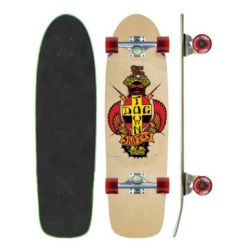 Комплект Dogtown OG Classic PC Tail Tap Skateboard Complete Бежевый