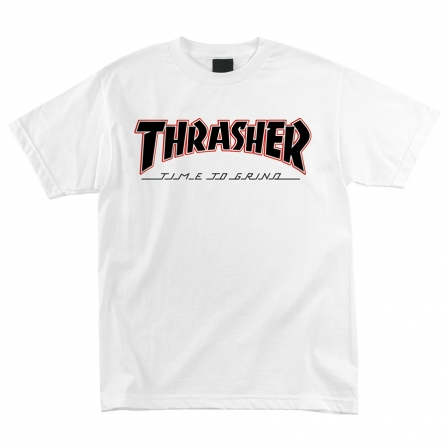 Футболка Independent x Thrasher TTG S/S Regular Белая