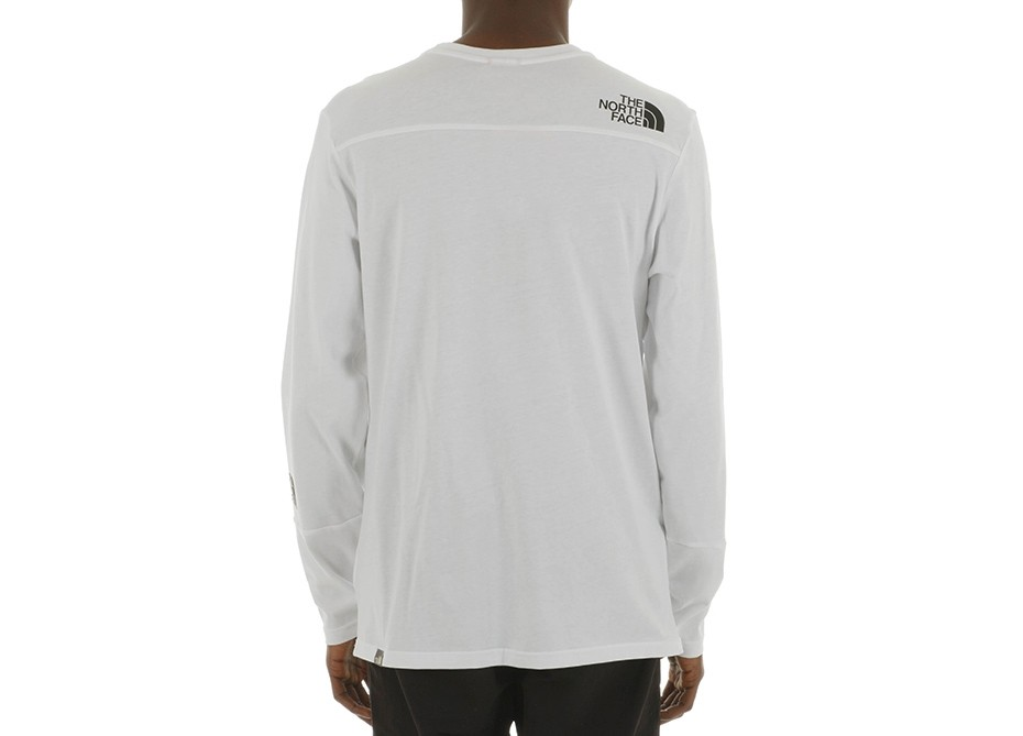 Футболка M L/S LIGHT TEE TNF Белый