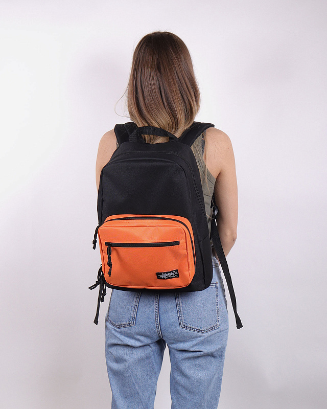 Рюкзак Anteater Bagmini-Combo_Orange Черный