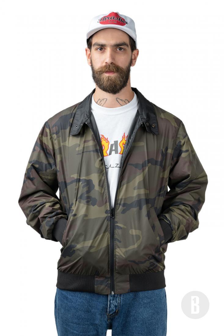 Куртка Gonz Reversible Coach Jacket Черный