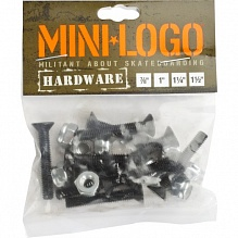 Крепеж Mini Logo Single Pack-7/8 Серый