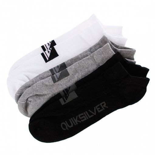 Носки Quiksilver INVISIBLE SOCKS PACK A X3 купить в Boardshop №1