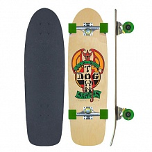Комплект Dogtown OG Classic Red Dog Skateboard Complete Бежевый